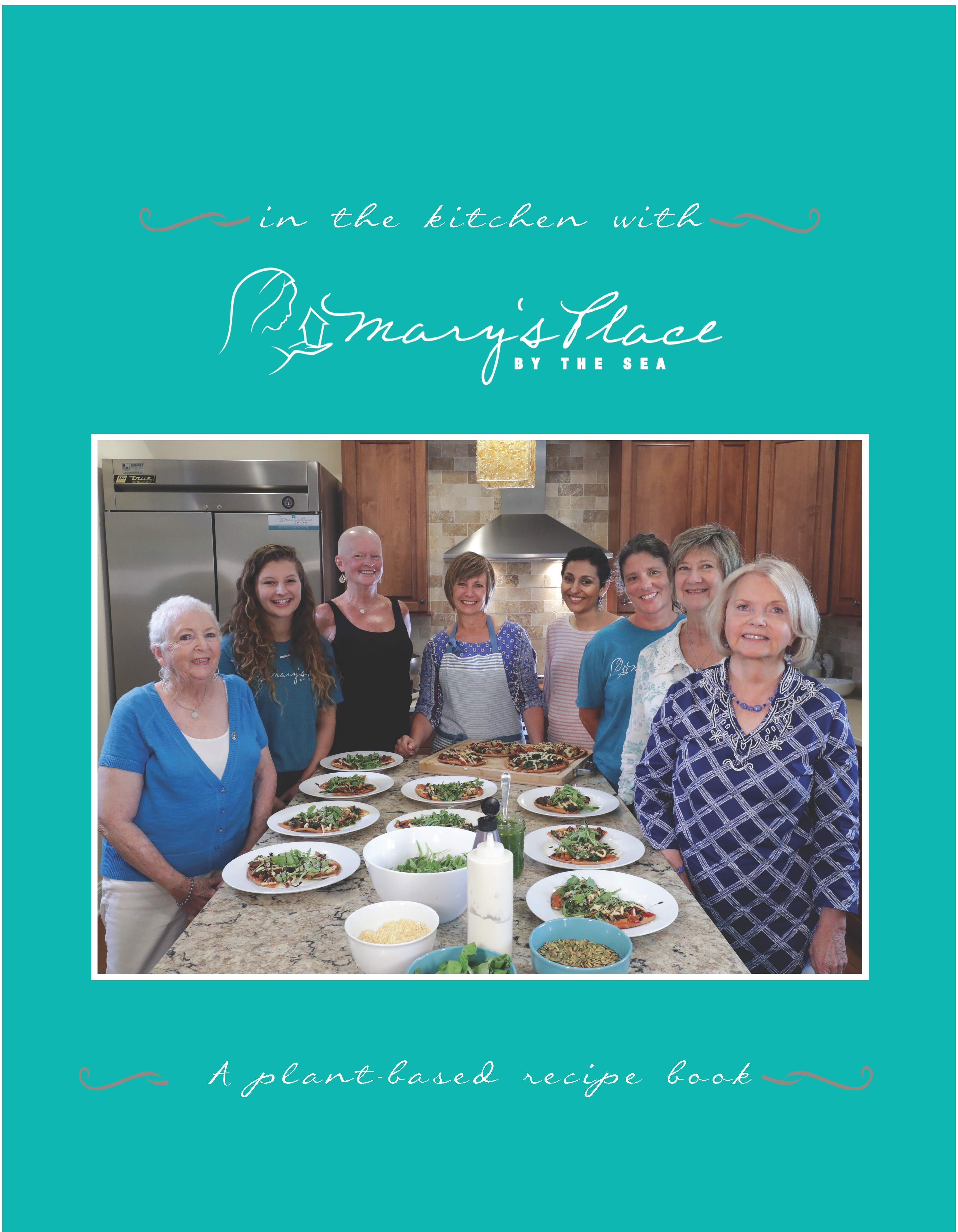 In The Kitchen With Mary S Place By Sea Recipe Book